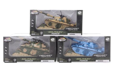 Tank kovový na baterie