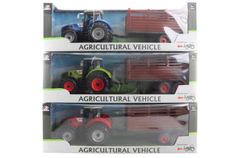 Traktor s vlečkou