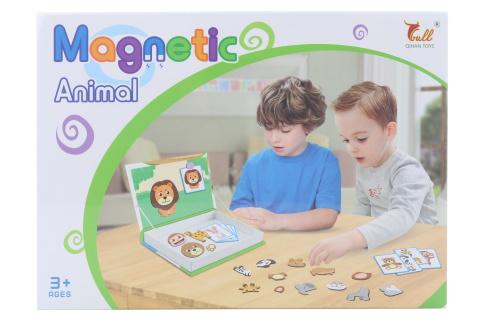 Stavebnice magnetická zvířátka