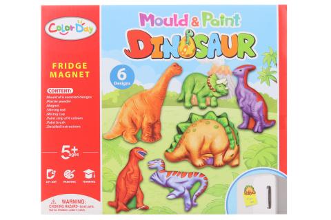 Výroba magnetů - dinosauři