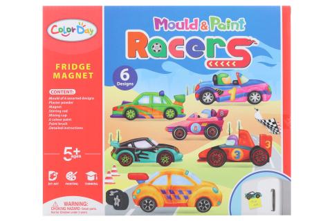 Výroba magnetů - závodní auta