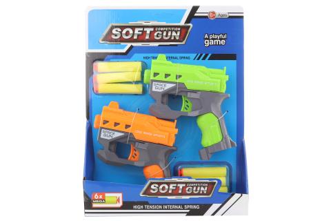 Sada pistolí na pěnové náboje