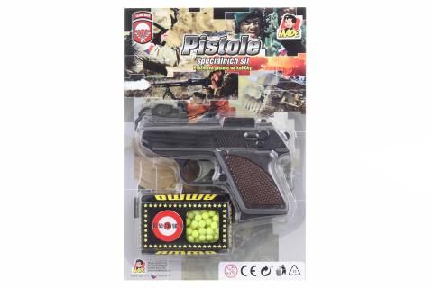 Pistole na kuličky, 12cm