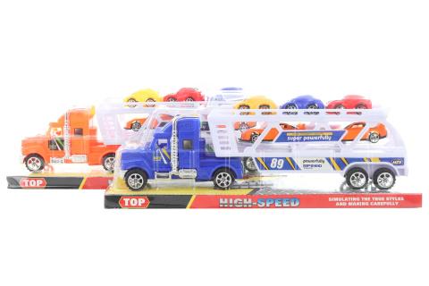 Kamion přepravník s auty