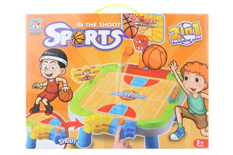 Hra basketbal 2v1