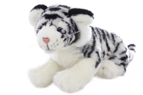 Plyš Tygr bílý 34 cm
