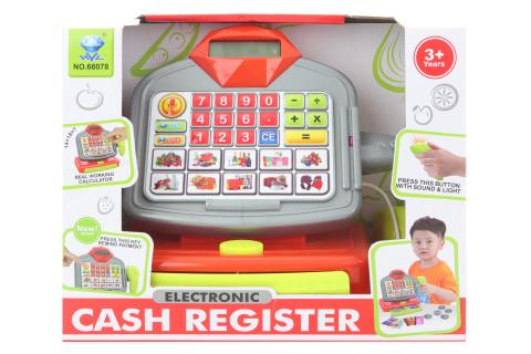 Pokladna elektronická na baterie