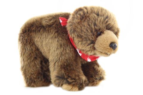 Plyš Medvěd hnědý 20 cm
