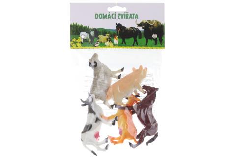 Domácí zvířátka 5 ks v sáčku