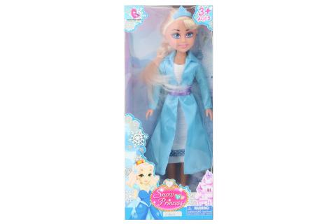 Sněhová princezna blondýnka