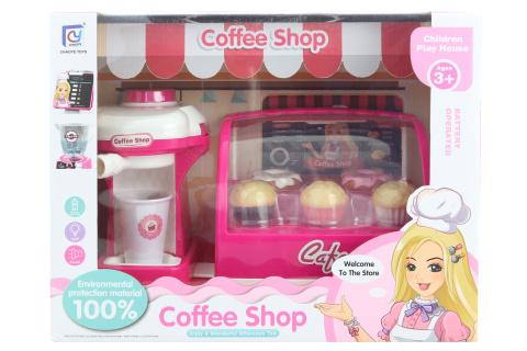 Kavárna na baterie s kávovarem