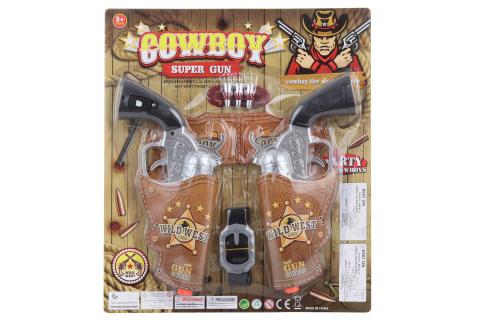 Sada kovbojských pistolí