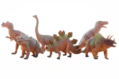 Dinosaurus  33-41cm 6/bal