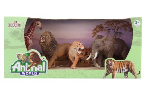 Sada zvířátka safari