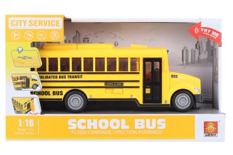 Školní autobus na baterie