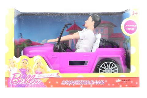 Auto pro panenky s panáčkem