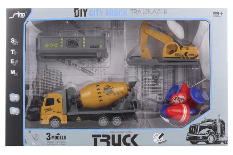 Sada stavebních aut
