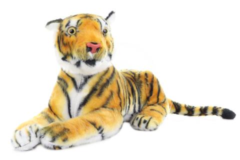 Plyš Tygr hnědý 54 cm