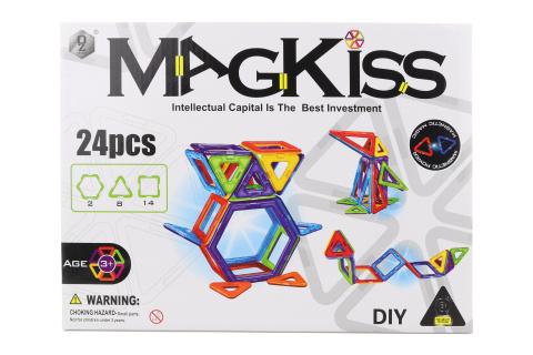 Magnetická stavebnice 24 ks