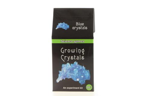 Mini chemická sada rostoucí krystaly - modré