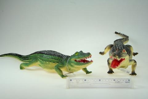 Krokodýl  2druhy 59-70cm