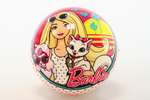 Míč Barbie se zvířátkem 14cm