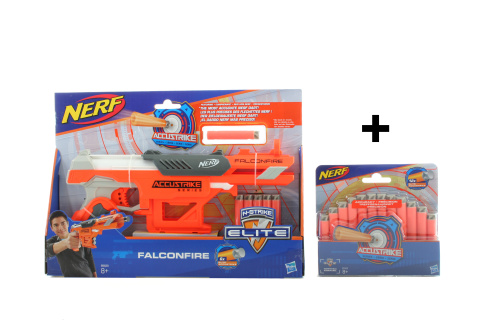 Nerf Accustrike FalconFire + ZDARMA náboje