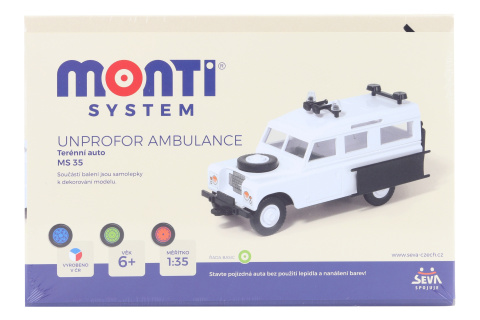 Monti System MS 35 - Unprofor Ambulance