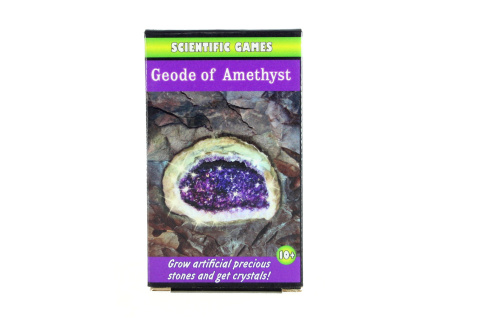 Vytvoř si geodu s ametysty