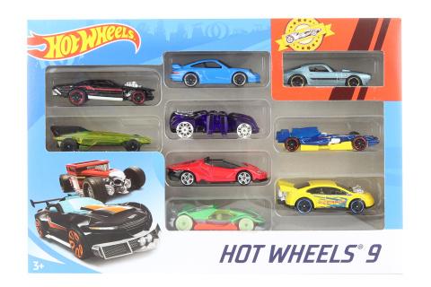 Hot Wheels autíčka mix druhů 9 ks X6999