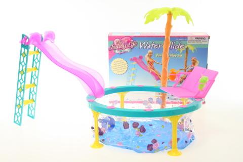 Glorie bazén se skluzavkou