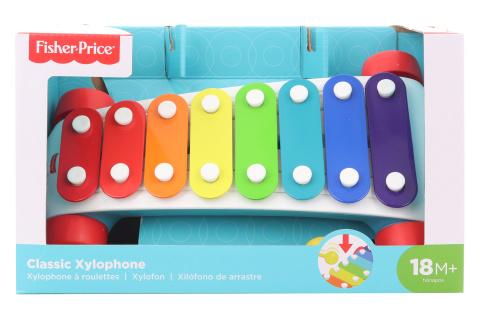 Fisher price Zábavný tahací xylofon CMY09