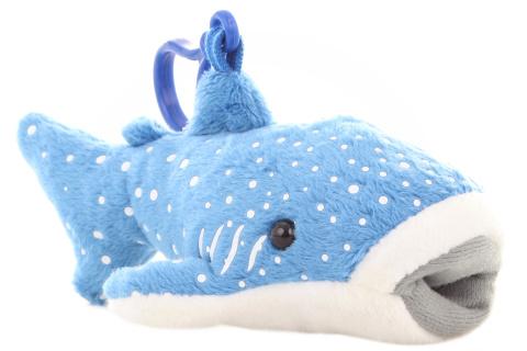 Plyš Žralok velrybí klíčenka 24/bal