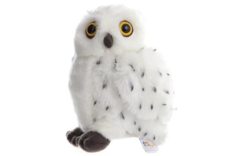 Plyš Sova sněžná 18 cm