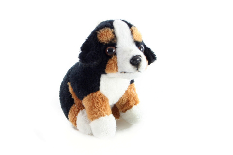 Plyš Bernský salašnický pes přívěsek