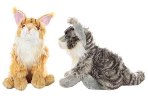 Plyš Mainská mývalí kočka 37 cm - ECO-FRIENDLY