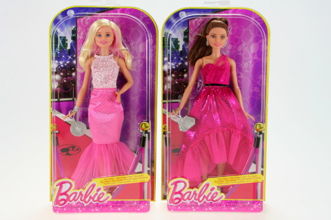 Barbie Večerní šaty DGY69