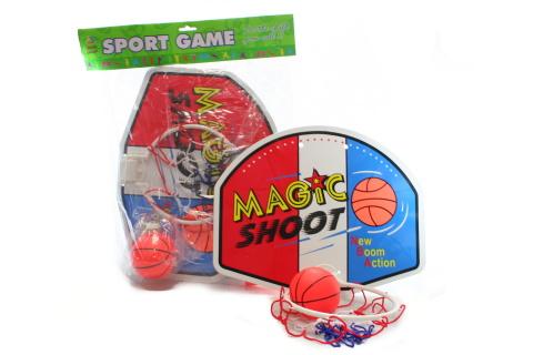 Basketball koš s míčem