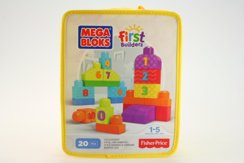 Mega Bloks FB 123 kostky DLH85