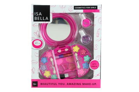 Make-up s laky na nehty