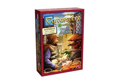Carcassonne 2. rozšíření Kupci a stavitelé