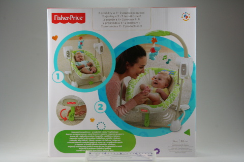 Fisher Price BG Houpačka a sedátko v jednom Rainforest BGM57