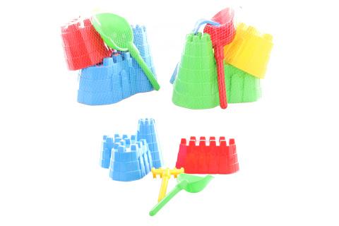 Sada pevnost na písek 3 barvy