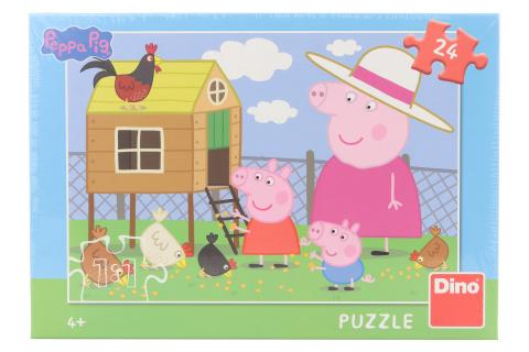 Puzzle Peppa Pig: slepičky 24 dílků