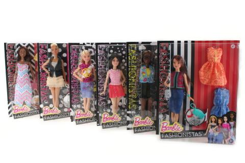 Barbie Modelka s oblečky a doplňky DTD96