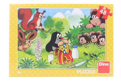 Puzzle Krtek a svačina 48 dílků