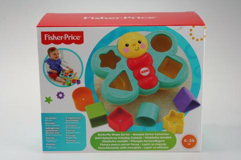 Fisher Price motýlek - učíme se tvary! CDC22