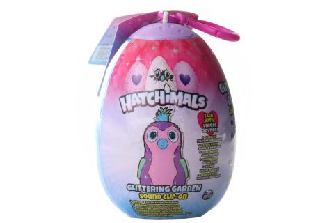 Hatchimals Plyšový přívěšek ve vajíčku