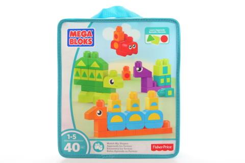 Mega Bloks Nauč se tvary DXH34