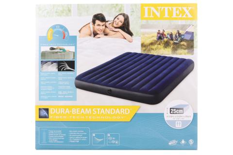 INTEX Nafukovací postel 183 x 203 x 25 cm 64755